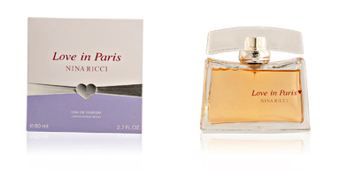 Nina Ricci LOVE IN PARIS eau de perfume vaporizador 80 ml