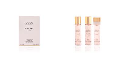 Chanel COCO MADEMOISELLE edt spray 3x20 ml refill