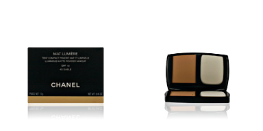 Chanel MAT LUMIERE compact #40-sable 13 gr