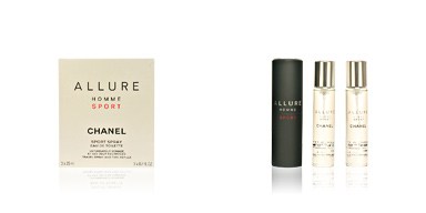Chanel ALLURE HOMME SPORT edt vaporizador 3x20 60 ml