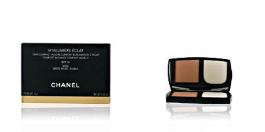 Chanel VITALUMIERE ECLAT compact #BR30-beige rosé-sable 13 gr