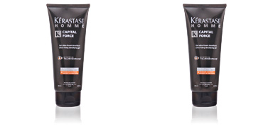 Kerastase HOMME CAPITAL FORCE gel ultra-fixant densifiant 200 ml
