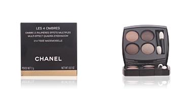 Chanel LES 4 OMBRES #214-tissé mademoiselle 2 gr