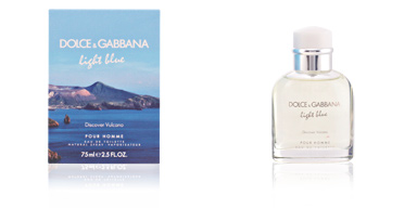 Dolce & Gabbana LIGHT BLUE HOMME VULCANO edt vaporizador 75 ml