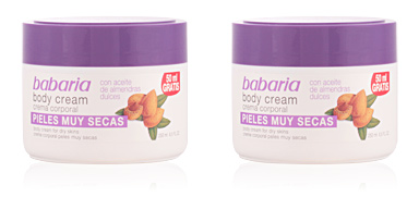 Babaria ALMENDRAS body cream pieles muy secas 250 ml
