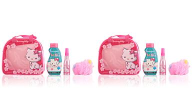 Hello Kitty CHARMMY KITTY BATH BAG SET 4 pz