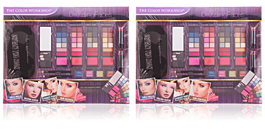 The Color Workshop DAZZLING FACES CASE 18 pz