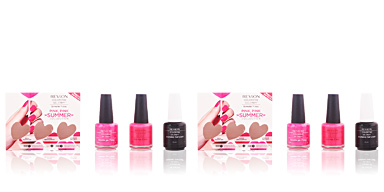 Revlon Make Up COLORSTAY gel ENVY PINK PINK SUMMER COFFRET 3 pz
