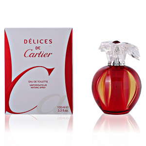 DELICES DE CARTIER edt vaporizador 100 ml
