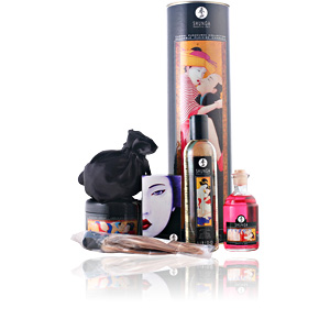 SHUNGA carnal pleasure collection LOTE 5 pz