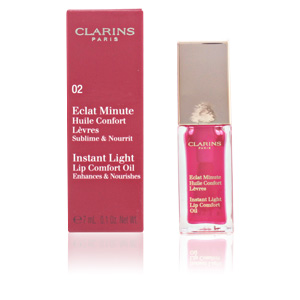 ECLAT MINUTE huile confort lèvres #02-strawberry 7 ml