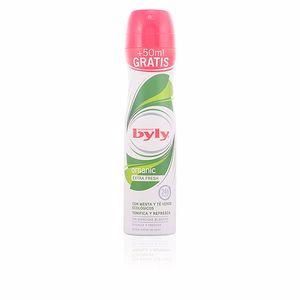 BYLY ORGANIC extra fresh deo vaporizador 200 ml