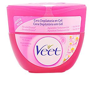 CERA DEPILATORIA en gel flor de loto piel normal 250 ml