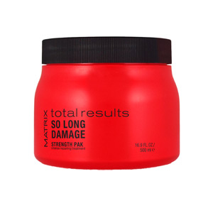 TOTAL RESULTS SO LONG DAMAGE strength pak 500 ml