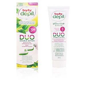 BYLY DEPIL DUO crema depilatoria menta y té verde PS 130 ml